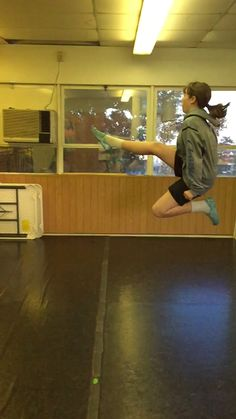 Action shot from dance