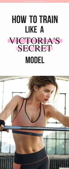 HOW TO TRAIN LIKE A VICTORIA'S SECRET MODEL - Train, Fitness, Workouts, Health and fitness, exercises, beginners, inspiration, fitness motivation, fitness inspiration - I can't believe how easy and quick these exercises are! The fact that the Angels do th