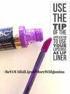 Did you know that you can use the tip of the applicator wand to line your lips? YEP! No need for liner its all in one! ❤ #ThursdayTips #LipBoss #LadyBoss #BossBabe #BossLife #LipSense #LipStick #LipTrain #SeneGence #Beauty #Makeup #Skincare #NaturalBeauty #MadeinUSA #LoveMyJob #Achieve #Believe #Entrepreneur #BeYOUtifulLipsAndMoreWithJonina #Gratiful