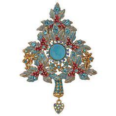 KIRKS FOLLY HEART OF THE DREAM  ANGEL PIN / PENDANT / ENHANCER  christmas tree