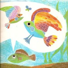 dream art for baby's wall (I loved Leo Lionni books SO MUCH as a little girl!)