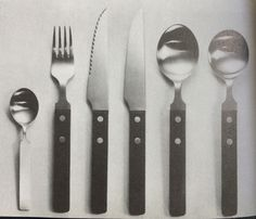 Bistro, stainless steel and rosewood- Robert Welch for Old Hall