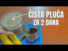 Banana i med za kašalj - sirup za čiščenje pluća (recepti) - YouTube Indoor Water Garden, Natural Medicine, Healthy Drinks, Glass Of Milk, Recipies, Banana, Baby Dress, Dips, Youtube
