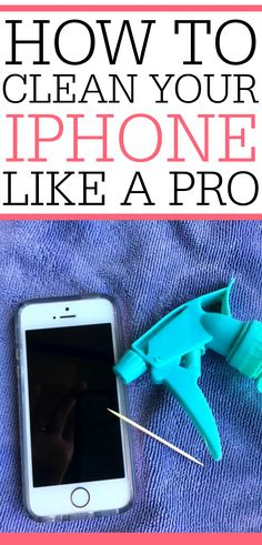When was the last time you cleaned your iphone? Get rid of germs and free up space with these simple tips on how to clean your iphone like a pro.  via @juliefrugally