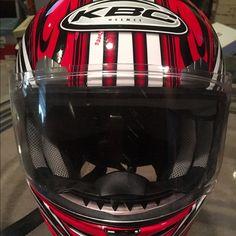Mens Motorcycle Helmet SOLD KBC motorcycle helmet.. few scratches..size 61-62cm kbc Other