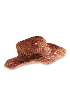 edc : Chapeau de paille vintage à acheter sur la Boutique en ligne Edc, Cowboy Hats, Vintage, Fashion, Boutique Online Shopping, Hat, Objects, Woman, Moda