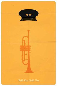 Kabhi Haan Kabhi Naa (1993) ~ Minimal Movie Poster by Ojasvi Mohanty #amusementphile