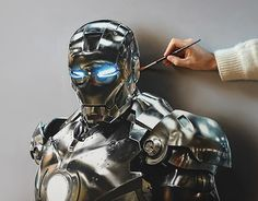 "Check out new work on my @Behance portfolio: ""Iron Man Painting"" http://be.net/gallery/35426543/Iron-Man-Painting"
