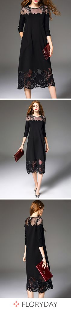 Buy Dresses, Online Shop, Women's Fashion Dresses for Sale - Floryday Simple Dresses, Pretty Dresses, Casual Dresses, Fashion Dresses, Dresses Dresses, Summer Dresses, Work Dresses, Robes Elie Saab, Beautiful Outfits