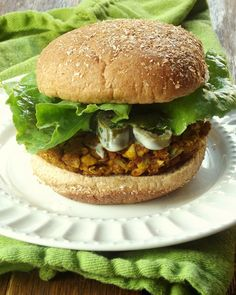 20. Cauliflower Chickpea Masala Burgers #healthy #cauliflower #recipes http://greatist.com/eat/super-surprising-super-delicious-cauliflower-recipes