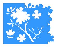 stencil opa cerejeira - Buscar con Google Stencil Flor, Stencil Opa, Stencils, Cake Stencil, Decoupage Tutorial, Scrapbooking, Master Class, Coloring Books, Applique