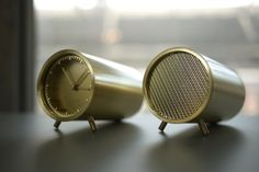 Core77 / Test Tubes: Piet Hein Eek on the Making of His Sleek New Clocks and Speaker for LEFF Amsterdam