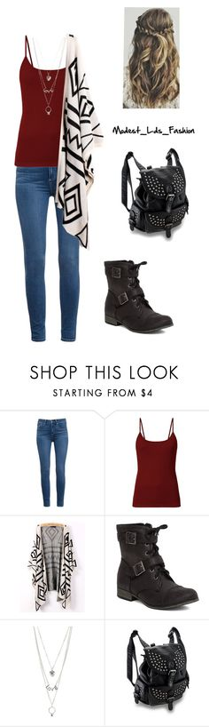 """""""Modest_Lds_Fashion"""" by modest-mormon-fashion ❤ liked on Polyvore featuring Paige Denim, Soda and Charlotte Russe"""
