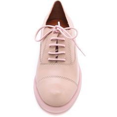 Marc By Marc Jacobs Sole Mates Oxfords - Tan/Pink