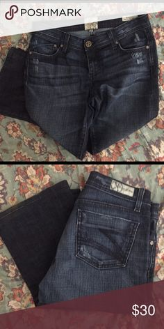Dylan George jeans Regular rise bootcut size 25. These jeans have only been worn a few times. Jeans Boot Cut