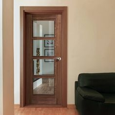 Fire doors for sale, Vision oak 4 light veneer door with clear glass, pre-finished, hour fire rated, safety for the home. Glazed Fire Doors, Internal Glazed Doors, Internal Door Handles, Oak Doors With Glass, Oak Fire Doors, Interior Doors For Sale, Interior Shutters, Safe Glass, Clear Glass