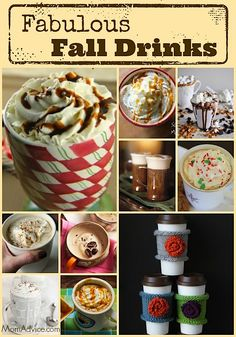 A round-up of DIY Starbucks Drink Recipes for Fall from MomAdvice.com.
