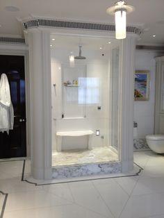 Master shower Mount st Master Shower, Shower Enclosure, Bathroom Lighting, Mirror, Glass, Furniture, Home Decor, Bathroom Light Fittings, Bathroom Vanity Lighting