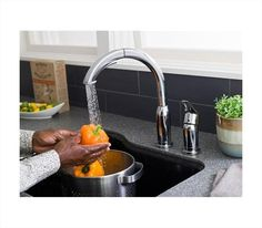 American Standard Arch Pull Out Kitchen Faucet in Stainless Steel