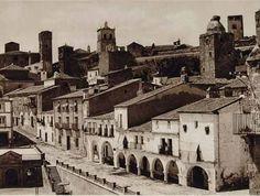 Vista de la ciudad. Trujillo (Cáceres), 1925.
