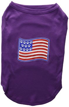 Mirage Pet Products Paws and Stripes Screen Print Shirts  Purple XL (16) ^^ Stop everything and read more details here! : Dog Shirts