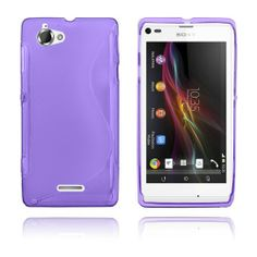 S-Line (Violetti) Sony Xperia L Suojakotelo Galaxy Phone, Samsung Galaxy, Sony Xperia, Line, Jelly, Iphone, Purple, Fishing Line, Marmalade