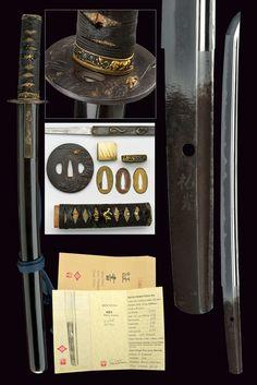 Lot : A wakizashi Koto Muromachi Suke Mitsu  - dating: circa 1400  - provenance…