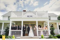 Their Wedding Took Place At The Beautiful Hawthorne House In Parkville Mo
