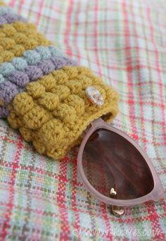 Sunglasses case: free pattern.