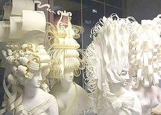 paper wigs tiffanys paris