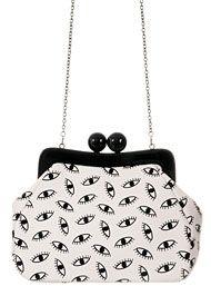 Handbags - Jeepers Peepers Kiss Lock Handbag by Isabella Chantel Handbags Handbags