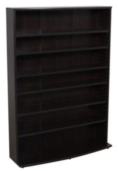 Homemakers Furniture: 4091 Collection Multimedia Storage Tower: Sauder: Entertainment: Cd & Dvd Storage