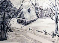 K.Kivés Art - Képgaléria - Vegyes technikával készült képeim. Techno, Snow, Outdoor, Art, Outdoors, Art Background, Kunst, Outdoor Games, Performing Arts