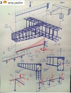 For Engineering Information Visit 👇 Civil Engineering Design, Civil Engineering Construction, Construction Design, Concrete Structure, Building Structure, Steel Structure, Escalier Art, Structural Analysis, Reinforced Concrete
