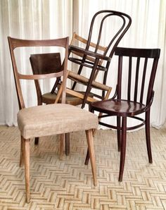 Mix old chairs (pcs 20)