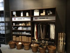 Muji @ Emporium Melbourne - Top 10s from both their clothing and homeware ranges