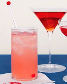 A beautiful pink color, this cherry limeade recipe is perfect for a wedding with a red or pink color palette and is delicious and non-alcoholic as well.