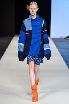 Berenika Czarnota is a Polish fashion designer whose recognition signs are colourful, girlish sweaters.