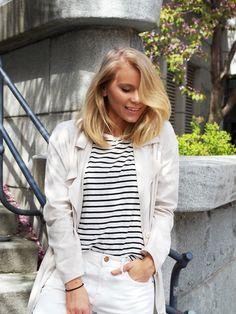 LACK OF COLOUR - Blog / #white #outfit #lob