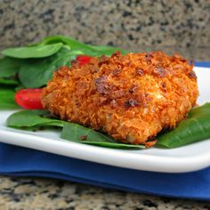 Here is my recipe for Baked Dorito-Crusted Chicken. It's an easy recipe that tastes great for a weekday dinner!