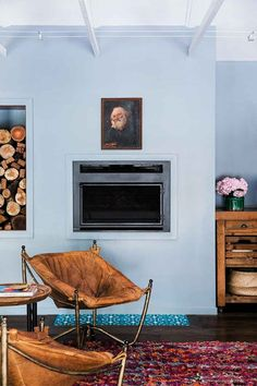 The must-see transformation of a dull home in Byron Bay House Color Schemes, Colour Schemes, House Colors, Freedom Furniture, Pink Cushions, Linoleum Flooring, Interior Design Business, Front Rooms, Farms Living