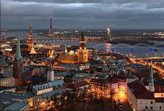 Riga, Latvia   not sure its all that wild but i'd like to visit some day.