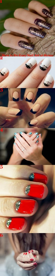 How to do easy nail art at home