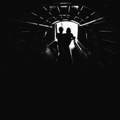 The light at the end of the tunnel #atomium #brussels #bruxelles #belgium #vsco #vscovibe #vscovisuals #vscocam #vscoaward #allvsco #vscotravel #justliving2014 #vscogrid #bw #blackandwhite #visualsystem #installation #numeric #digital #experience #experimentation #experiment #installation #sciencefiction #anticipation #outofcontrol #id2014
