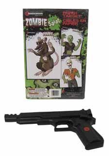 Zombie .177 SingleStroke Spring BB 18rd   .177 cal. Air Pistol & Target Set