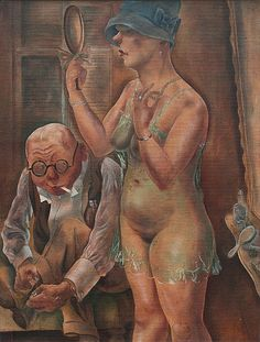 George Grosz, Husband and wife, 1926  Discover the coolest shows in New York at www.artexperience...