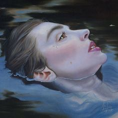 "Kari-Lise Alexander Paints Nordic Beauties in ""A Lovelorn Theft"" Ophelia Painting, John Bauer, Artist Bio, Realistic Paintings, Oil Paintings, Water Me, Beautiful Creatures, Exotic, Illustration Art"
