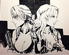 Quiet and Sniper Wolf