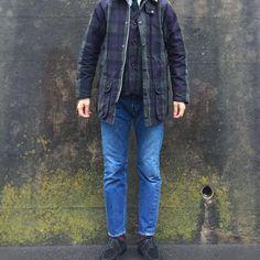 2017/03/26 21:24:46 americankari Today's clothes ・Jacket - #Barbour × Ships - BEAUFORT ・vest - The #BritishMillerain × HINSON QUALITY GARMENTS ・Shirts - #beamsplus oxford ・Tie - #kennethfield 4face tie ・Pants - #resolute 710 ・Shoes - #ALDEN Suede U-Tip . 雨の日はBEAUFORT☝️ . バブアーが使用している 英国の老舗生地メーカー The British Millerainの オイルドコットンのベストを合わせて . BEAUFORTと全く同じ生地なので バブアーのベスト?と勘違いされるほど ジャケットと合います👍 . #バブアー #ケネスフィールド #ビームスプラス #オールデン #リゾルト #コーデ #コーディネート #mensstyle #mensfashion #ootd #outfit #ootdmen…