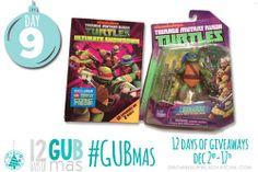 12 Days of GUBmas: Day Nine- TMNT Prize Pack Giveaway